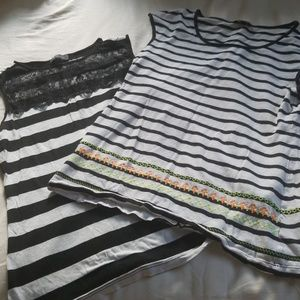 Bundle of limited striped tops